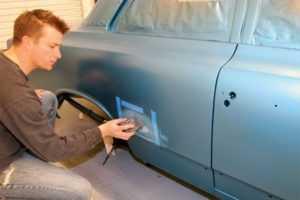 Покраска автомобиля своими руками