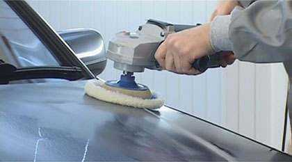 Технология покраски автомобиля: удаление ржавчины