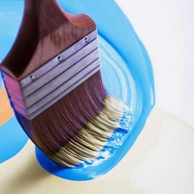 Технология покраски пластика позволяет использовать кисть