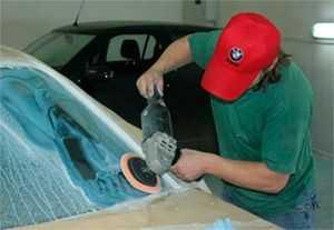 Полировка стекол автомобиля можно выполнить своими руками