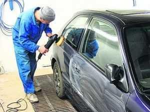 Устранение дефектов покраски авто