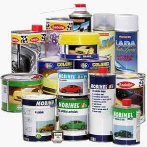 Материалы для покраски авто - выбираем все необходимое