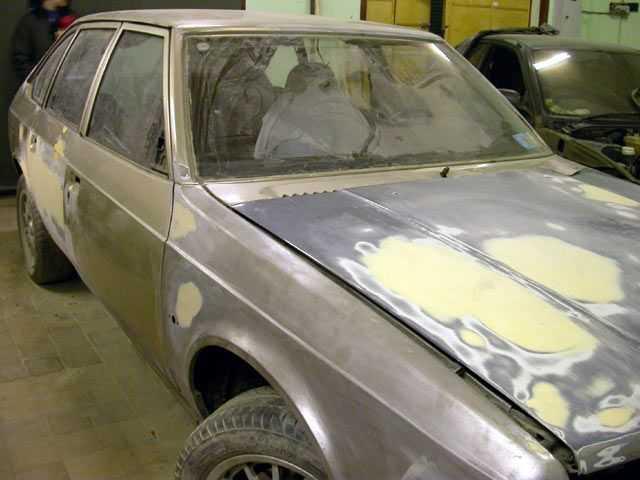 Нужны материалы для подготовки к покраске автомобиля