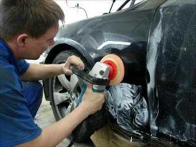 Перед шпаклеванием автомобиля необходима зашлифовка