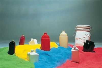 Разноцветные порошковые краски