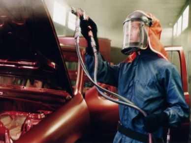 Технология подготовки автомобиля к покраске включает несколько этапов