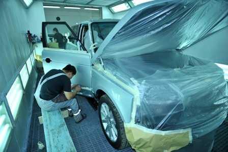 Производим ремонт автомобиля