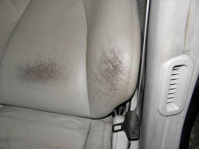 Покраска кожи автомобиля избавит от потертостей
