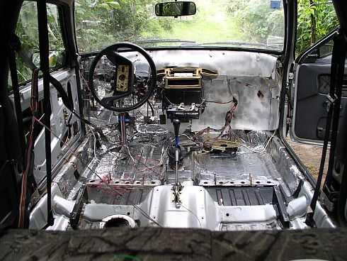 Покройте антикором весь кузов автомобиля