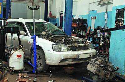 Кузовной ремонт в собственном гараже