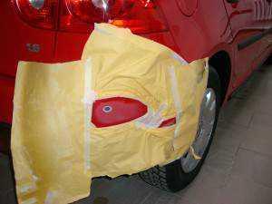 Точечная покраска автомобиля легко выполняется своими руками