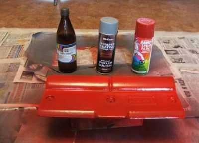 Химия для покраски торпеды