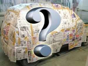 Сколько нужно краски для покраски авто?