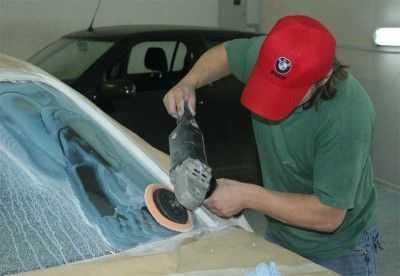 Особенности полировки лобового стекла
