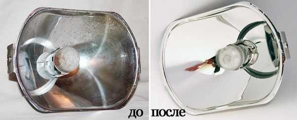 Замена зеркальной пленки
