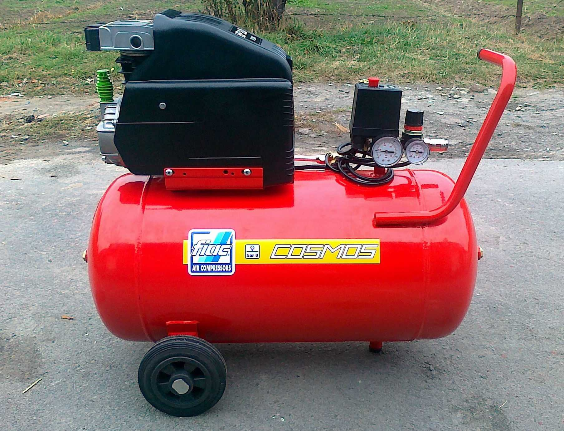 Бытовой компрессор для гаражников
