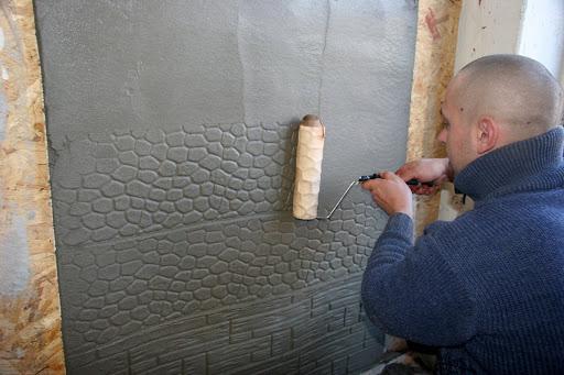 Стены декоративная штукатурка своими руками