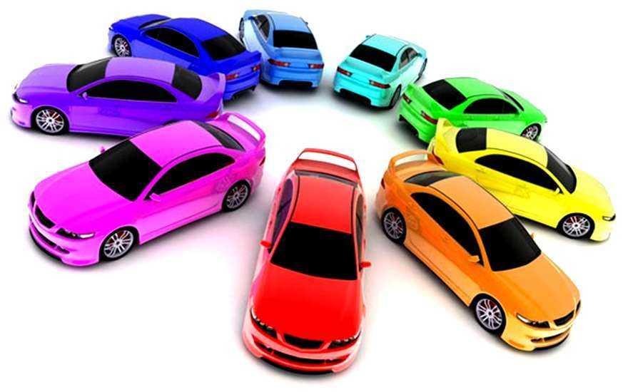 Самые популярные цвета автомобилей в 2014 году