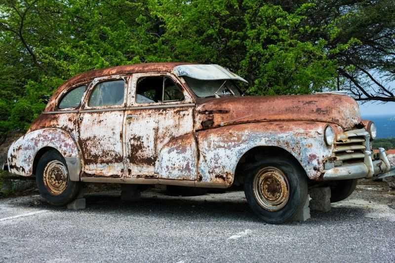 Автомобиль без антикоррозийной обработки превращается в ржавое корыто