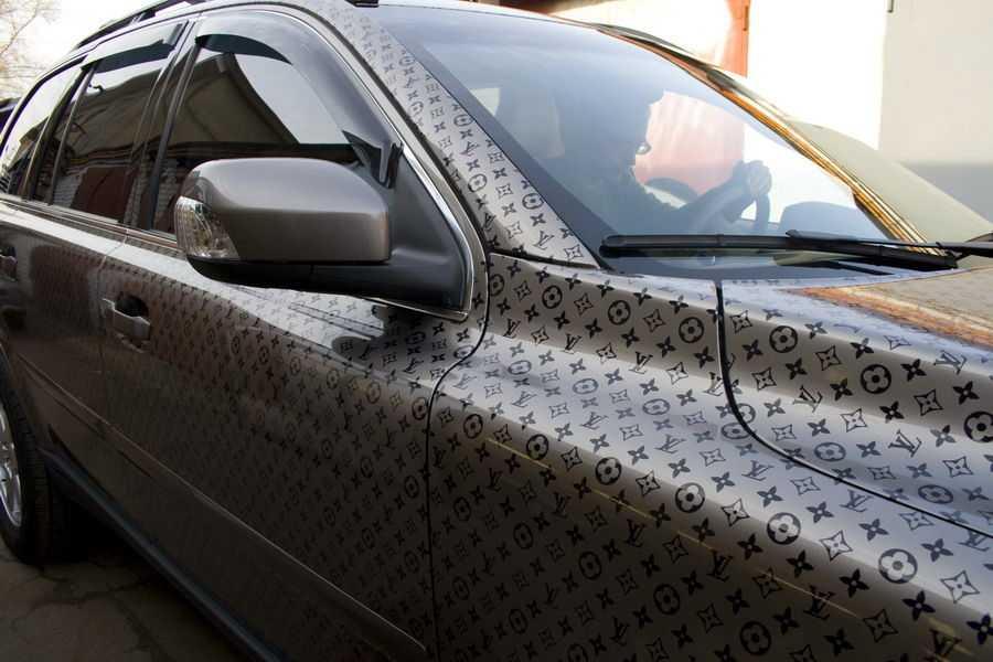 Интересный тюнинг авто всегда привлекает взоры