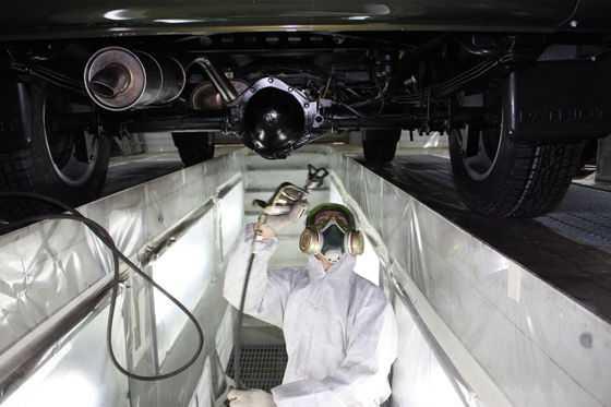 Защитная обработка автомобиля