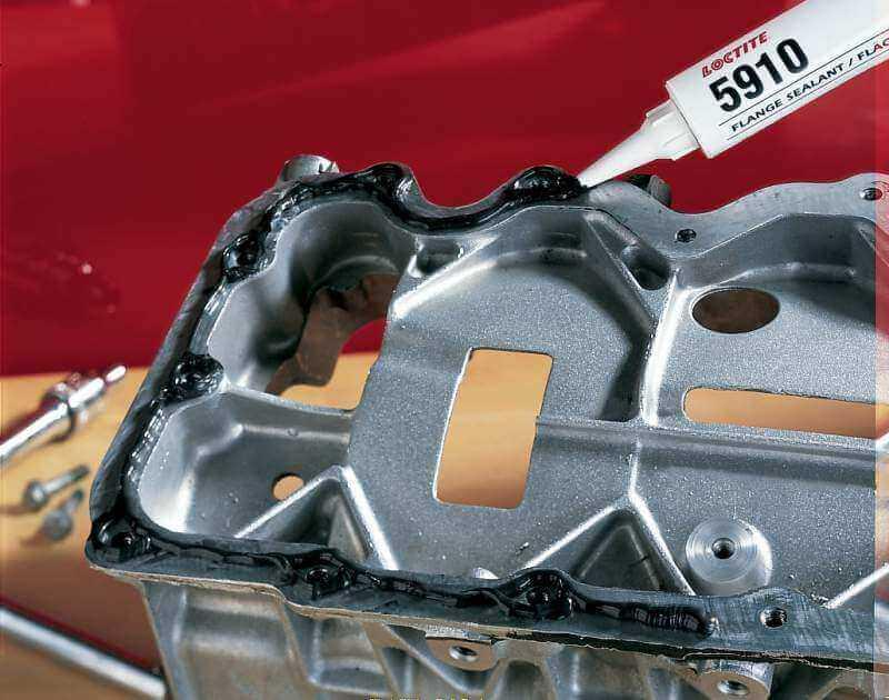 Прокладки в двигателе часто делают из силикона