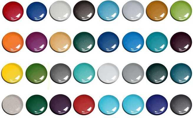 Как подобрать колер для краски