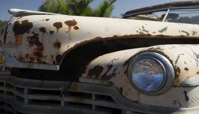 Автомобиль боится ржавчины