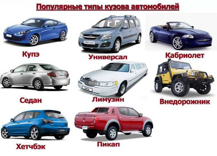 Особенности характеристик различных кузовов автомобиля