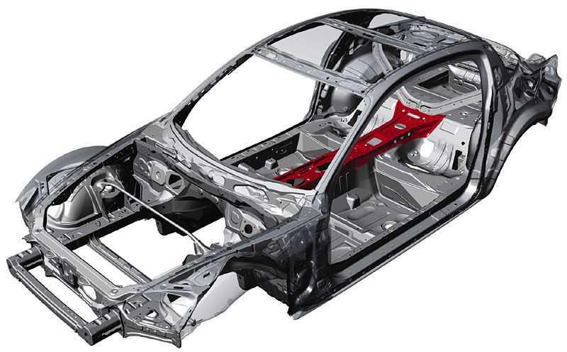 Каркас легкового авто должен быть прочный и надежным