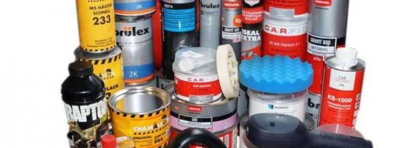 Выбираем самые необходимые материалы для покраски автомобиля своими руками