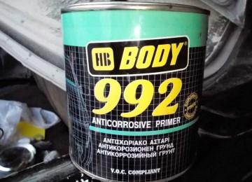 Надежная защита от коррозии – грунт body 992