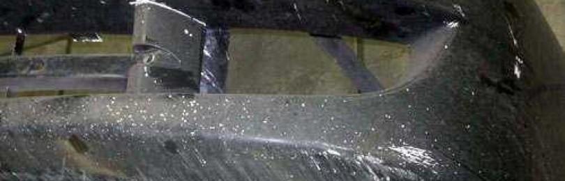 Предварительная подготовка поврежденного бампера к покраске