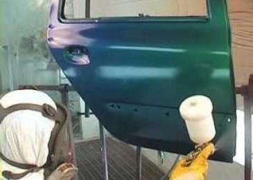 Технология покраски дверей автомобиля своими руками