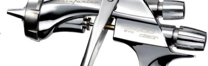 W-400 и другие модели краскопультов Ивата для покраски автомобиля