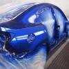 Окрашивание автомобиля краской цвета синий металлик