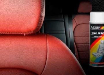 Особенности красок для восстановления черной и бежевой кожи салона автомобиля