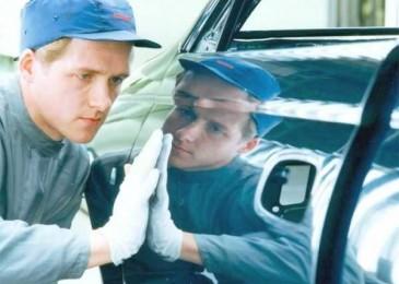 Правильный ремонт поврежденного лакокрасочного покрытия автомобиля