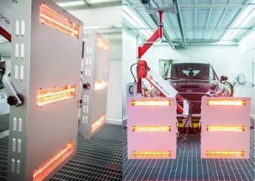 Альтернатива ОСК: инфракрасная лампа для сушки авто после покраски