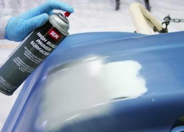 Правильная подготовка авто под покраску с применением грунта для пластика