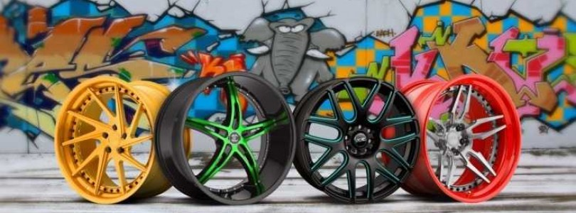Технология порошковой окраски колесных дисков своими руками