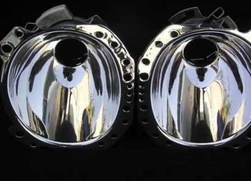 4 способа восстановления зеркального покрытия отражателя фары своими руками