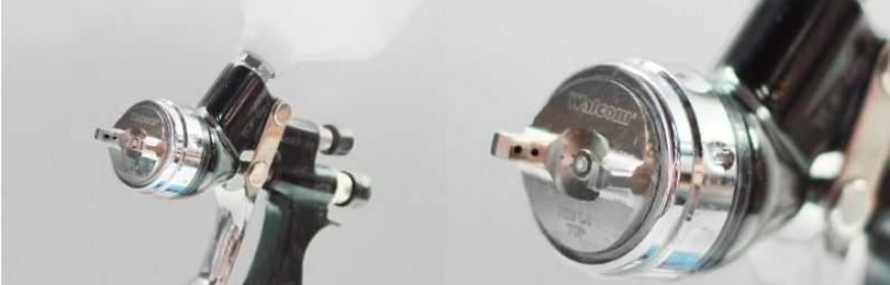Использование в кузовном ремонте краскораспылителей Walcom slim