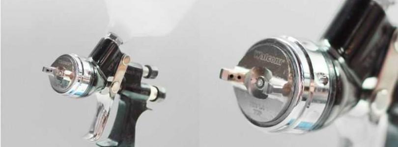 Использование в кузовном ремонте краскораспылителей Walcom slim hvlp