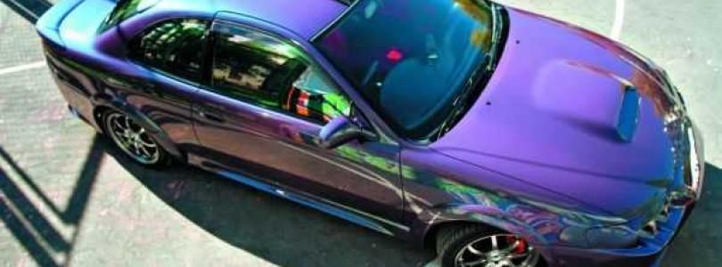 Особенности автомобильной краски хамелеон: сделайте свой авто неповторимым!