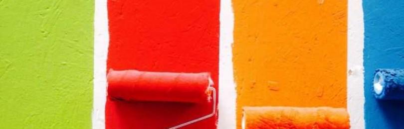 Выбор и применение валика для покраски