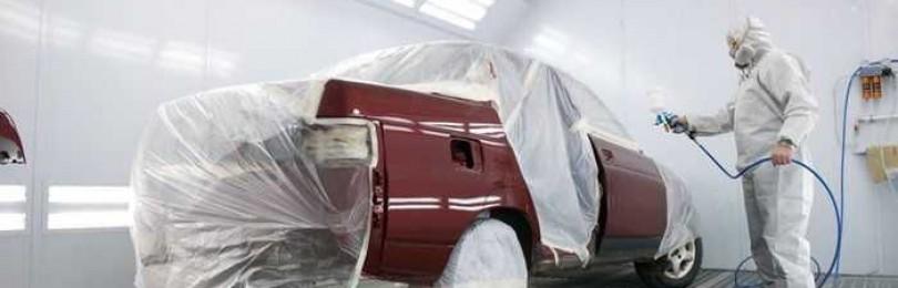 Что нужно приобрести для покраски своего автомобиля?