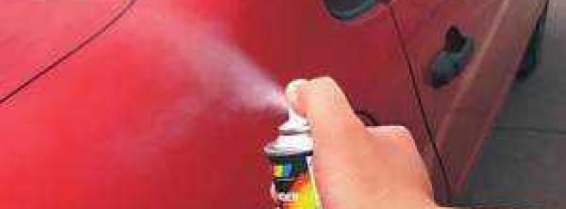 Порядок выполнения покраски авто из баллончика