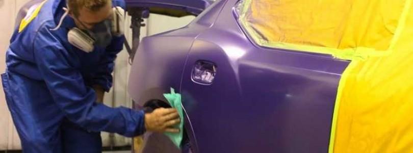 Покраска автомобиля переходом: как сделать своими руками без снятия деталей?