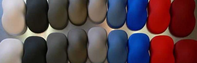 Виды и особенности использования краски для пластика